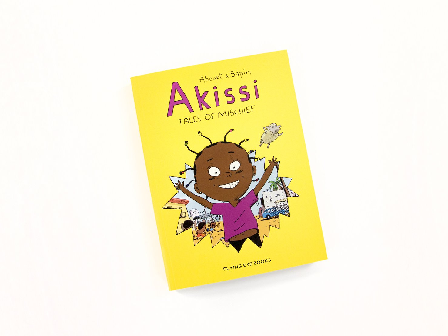 Akissi: Tales of Mischief [Graphic Novel] by Flying Eye Books (Image #4)