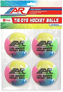 A & R Sports Tie and Dye Balles de hockey (lot de 4) A&R Sports LBTDBALL-4