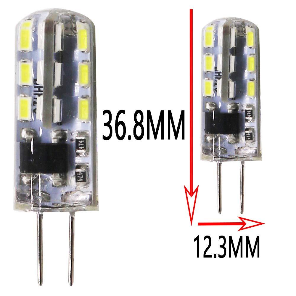 risparmio energetico fino al 90/% Cool White 6000k 1 pezzo 240-260LM, 3 W pu/ò sostituire una lampadina alogena da 40 W lampadina G4LED 220 V