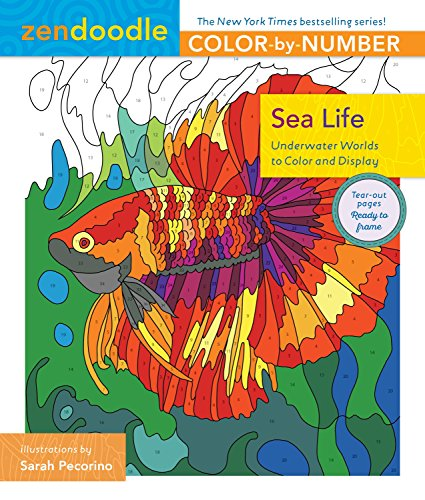 Pdf Crafts Zendoodle Color-by-Number: Sea Life: Underwater Worlds to Color and Display
