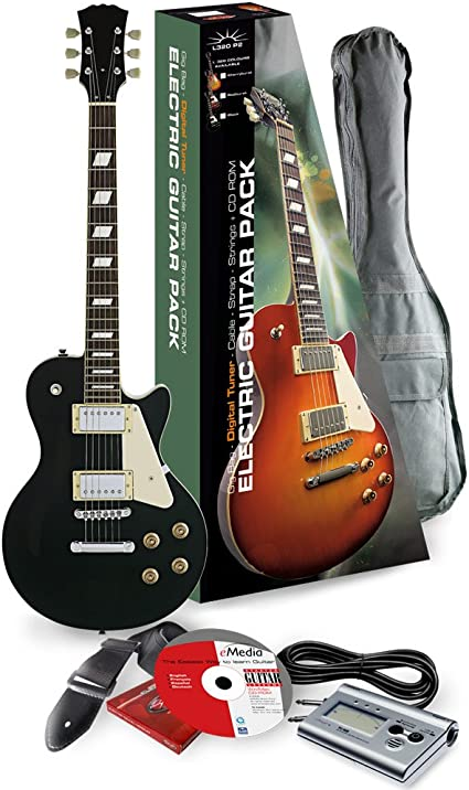 Rocket Music EGL44BKPK - Kit de guitarra eléctrica (pastillas ...