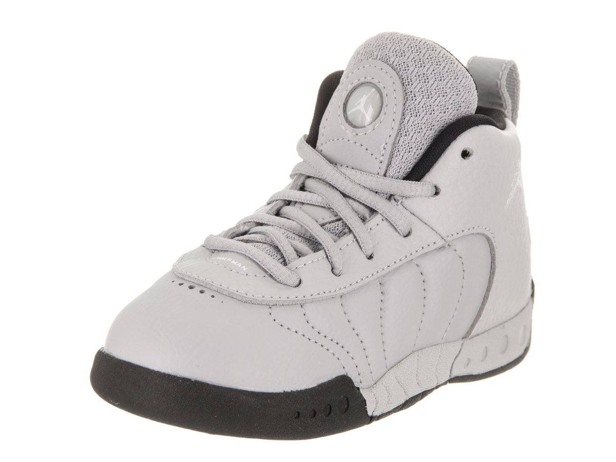 Jordan Nike Toddlers Jumpman Pro BT Wolf/Grey/White/Black/White Basketball Shoe 5 Infants US