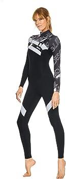 GlideSoul - Traje de Neopreno con Cremallera para Mujer, Mujer ...