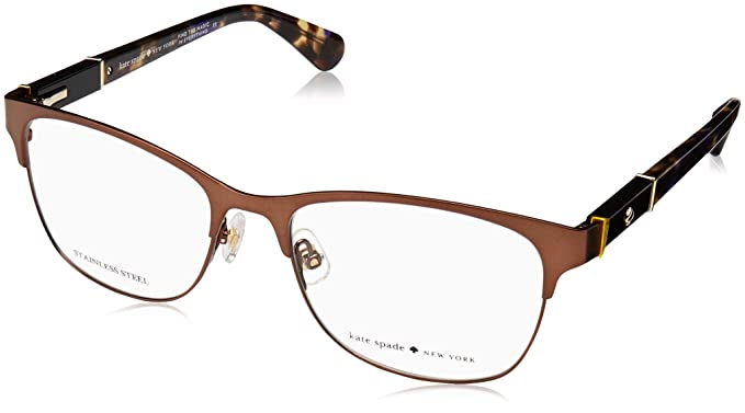 8301bfe68e Image Unavailable. Image not available for. Color  Eyeglasses Kate Spade  Benedetta 04IN Matte Brown