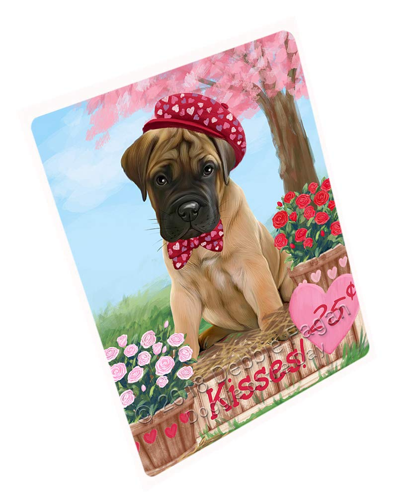 Doggie of the Day Rosie 25 Cent Kisses Bullmastiff Dog Blanket BLNKT127263 (50x60 Sherpa)