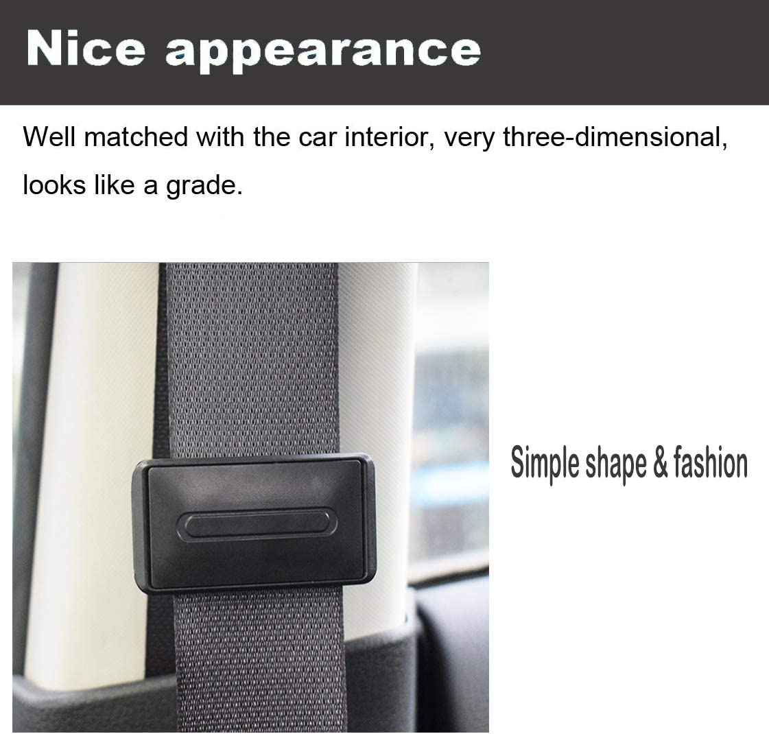 Children iwobi 2 Pcs Seat Belt Adjuster,Car Seatbelt Clips to Relax Shoulder Neck Convenient for The Elderly Pregnant Women