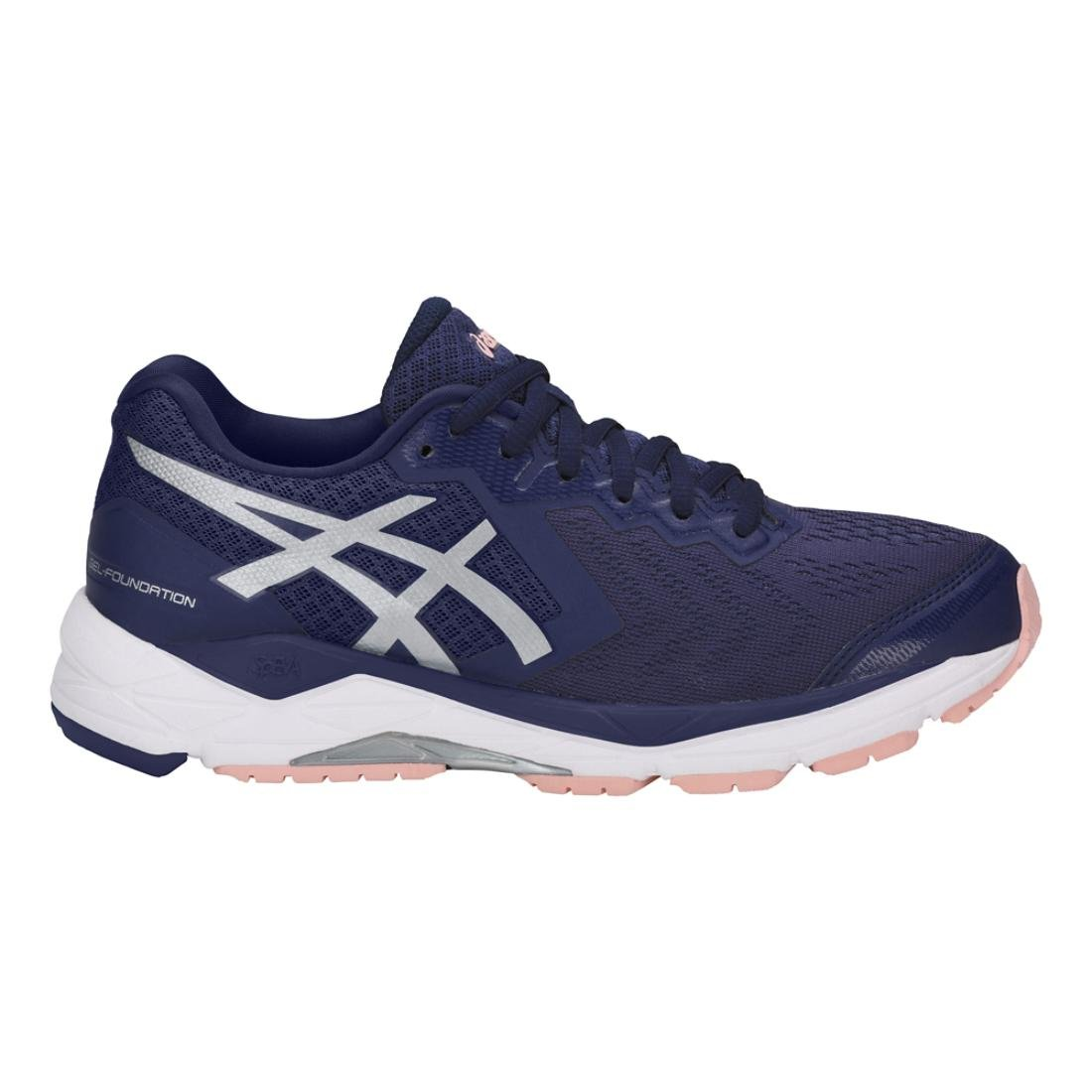 ASICS 11 Women's Gel-Foundation 13 Running Shoes B077MBW4BX 11 ASICS D US|Indigo Blue/Silver/Seashell Pink 134ef5
