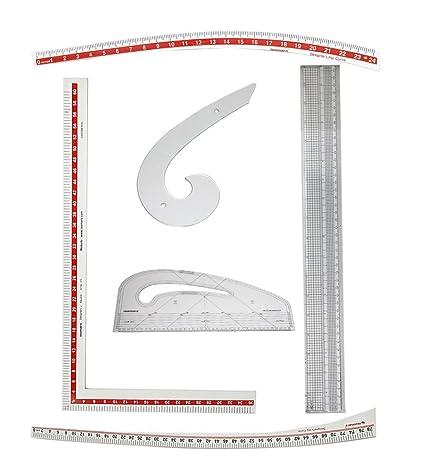 Designers Den Tailoring Scales- Set Of 6