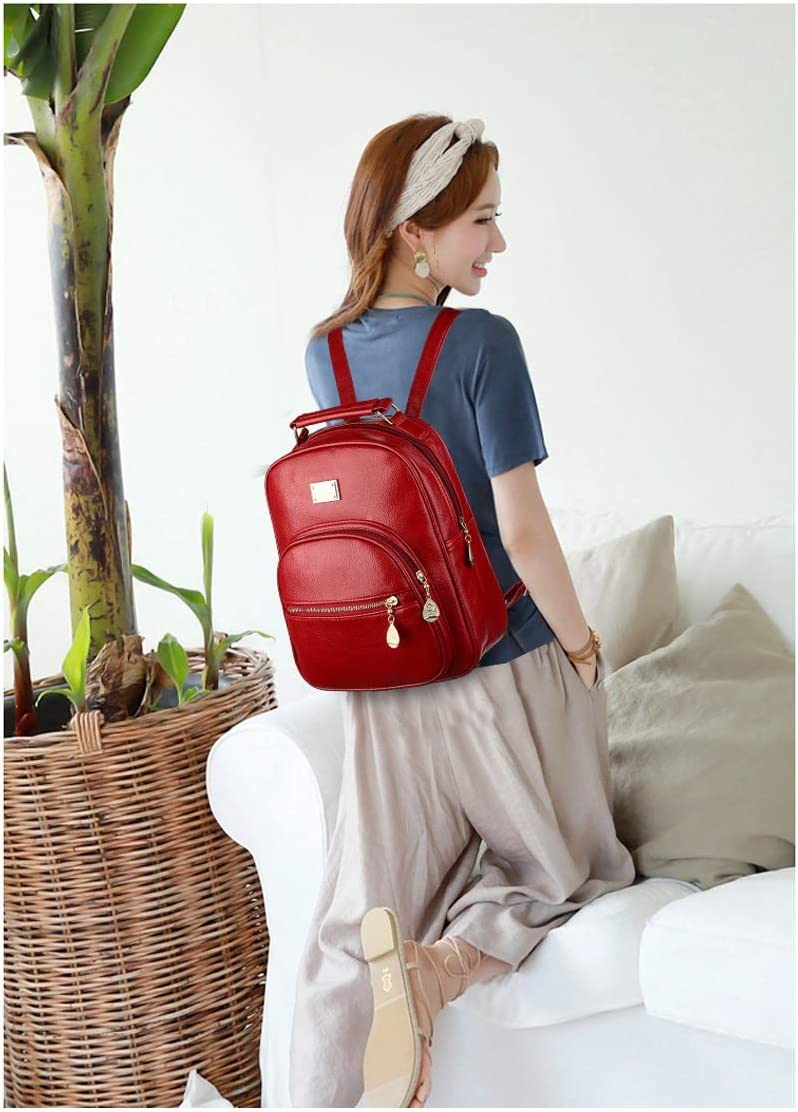 Work School Five Colors Travel Color : Blue , Size : 26cm33cm12cm Generous And Practical. The Girls Versatile Backpack Is Perfect For Everyday Travel Fashion And Leisure Outdoor
