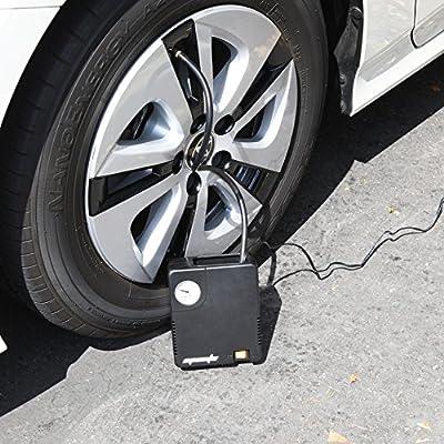 EPAuto 12V DC Auto Portable Air Compressor Pump/Tire Inflator for Compact/Midsize Sedan SUV: Automotive