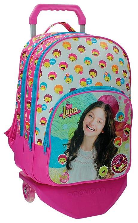 Disney Luna Icons Mochila Escolar, 26.88 Litros, Color Rosa