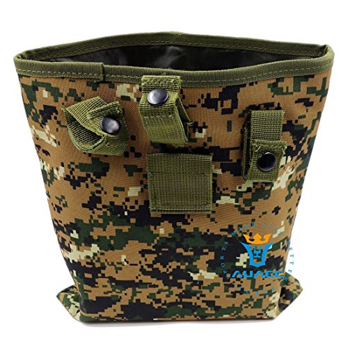 Multifunktions Survival Gear Tactical Beutel MOLLE Beutel groß Magazin Dump Drop Utility Pouch Recycle Tasche, Outdoor Camping tragbar Handtaschen Taille Tasche Werkzeugtasche Reisetasche DC