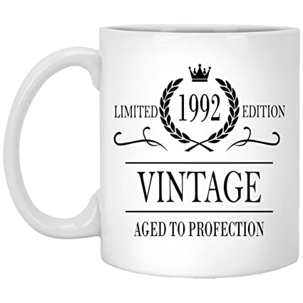 1992 26th Birthday Gifts For Women And Men Coffee Mug