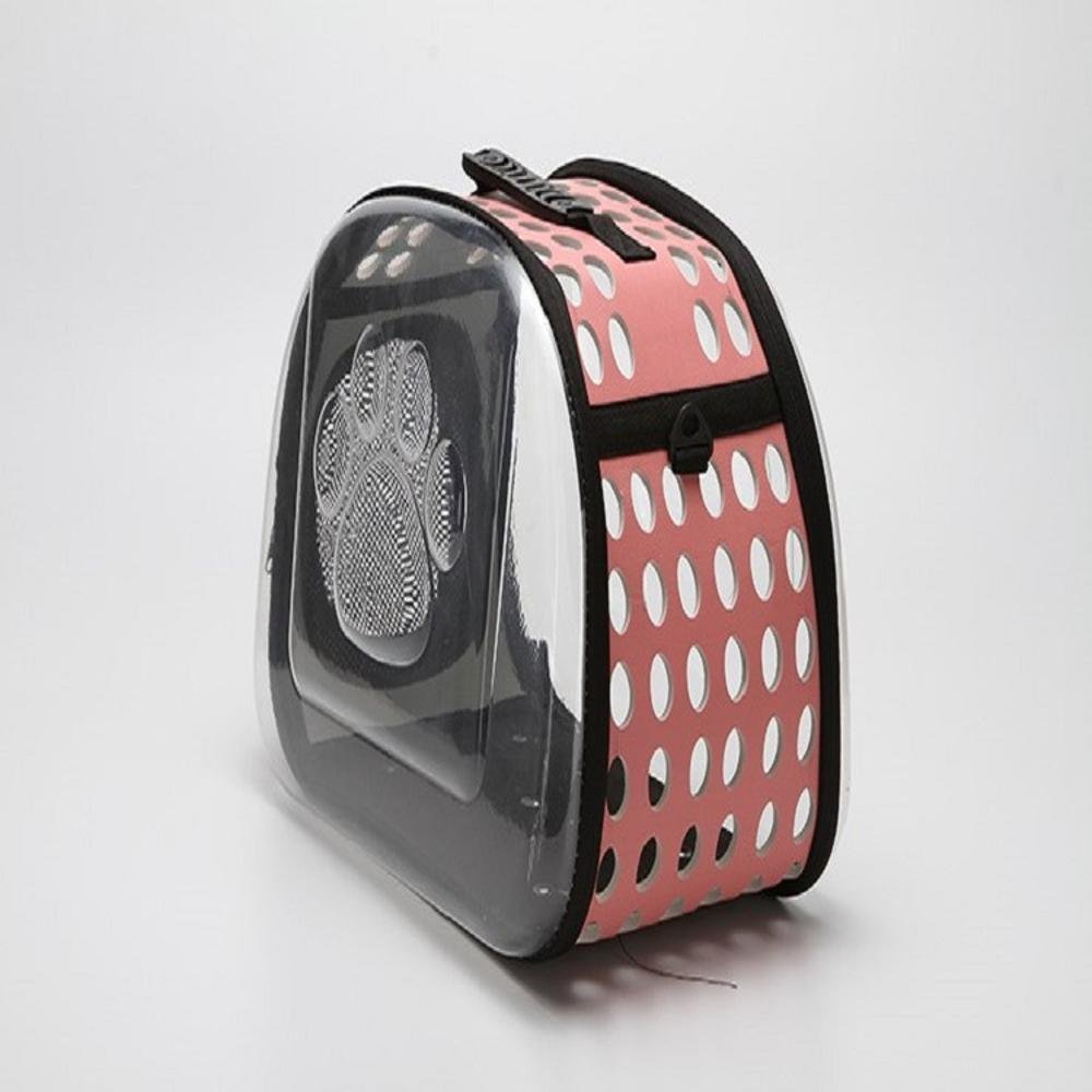 Dixinla Pet Carrier Backpack Pet Backpack Cat Dog Universal transparent folding out travel package