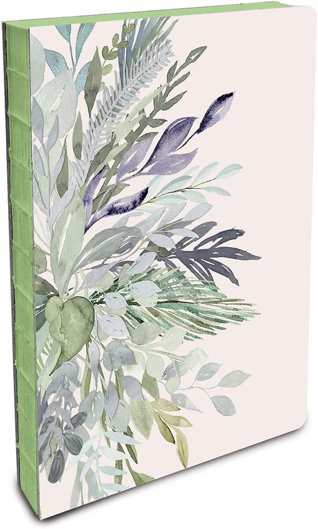 Studio Oh! Coptic-Bound Journal, Watercolor Leaves (CB030)