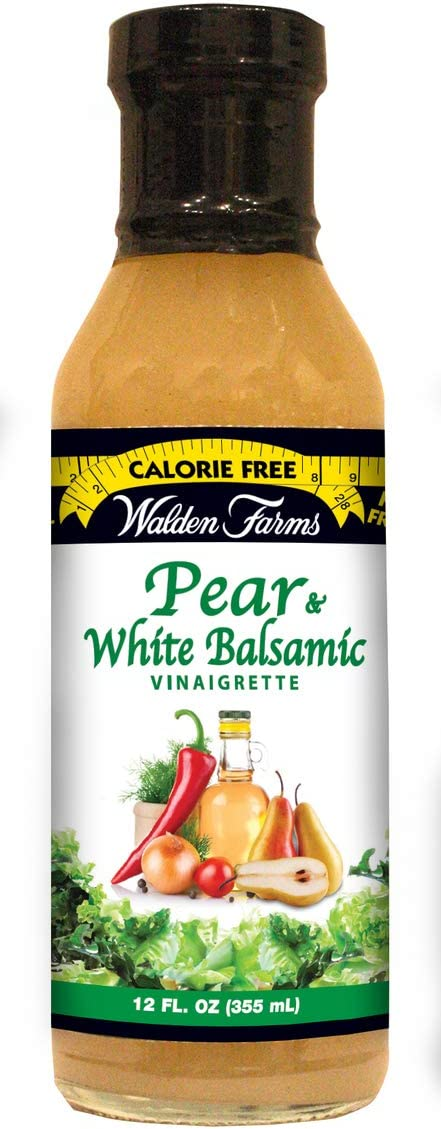 Walden Farms Pear White Balsamic Vinaigrette - (2 Pack )