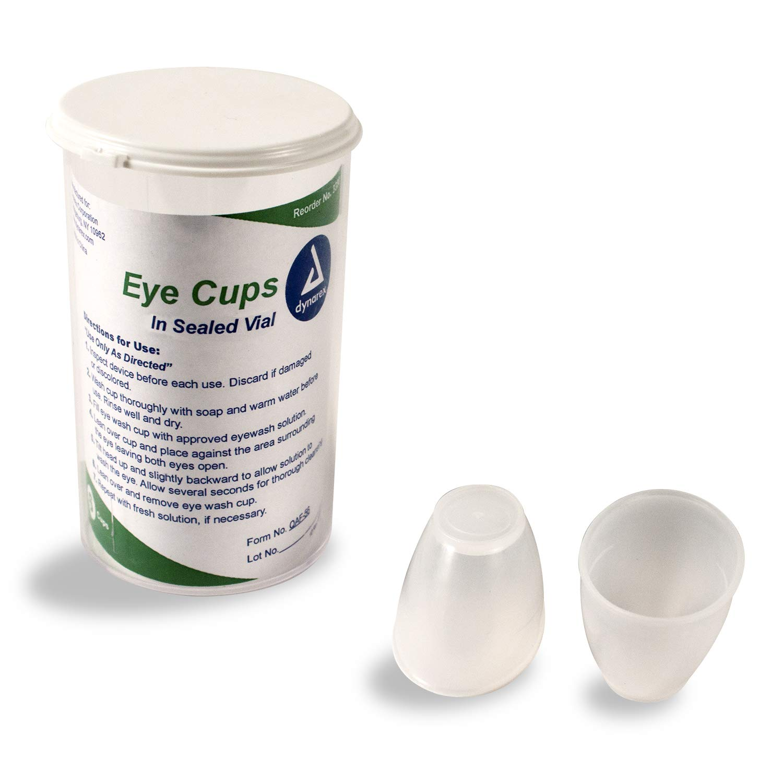 Dynarex Eye Cups in Vial 50/6/Cs