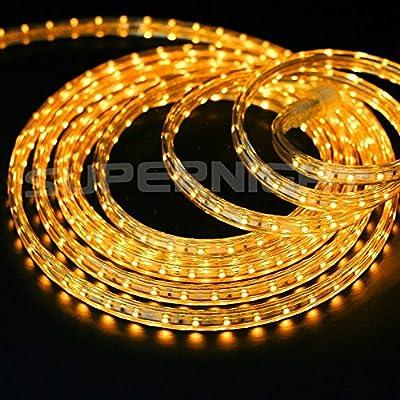SUPERNIGHT AC 110V 3528 SMD Waterproof Flexible LED Strip Lights String Light