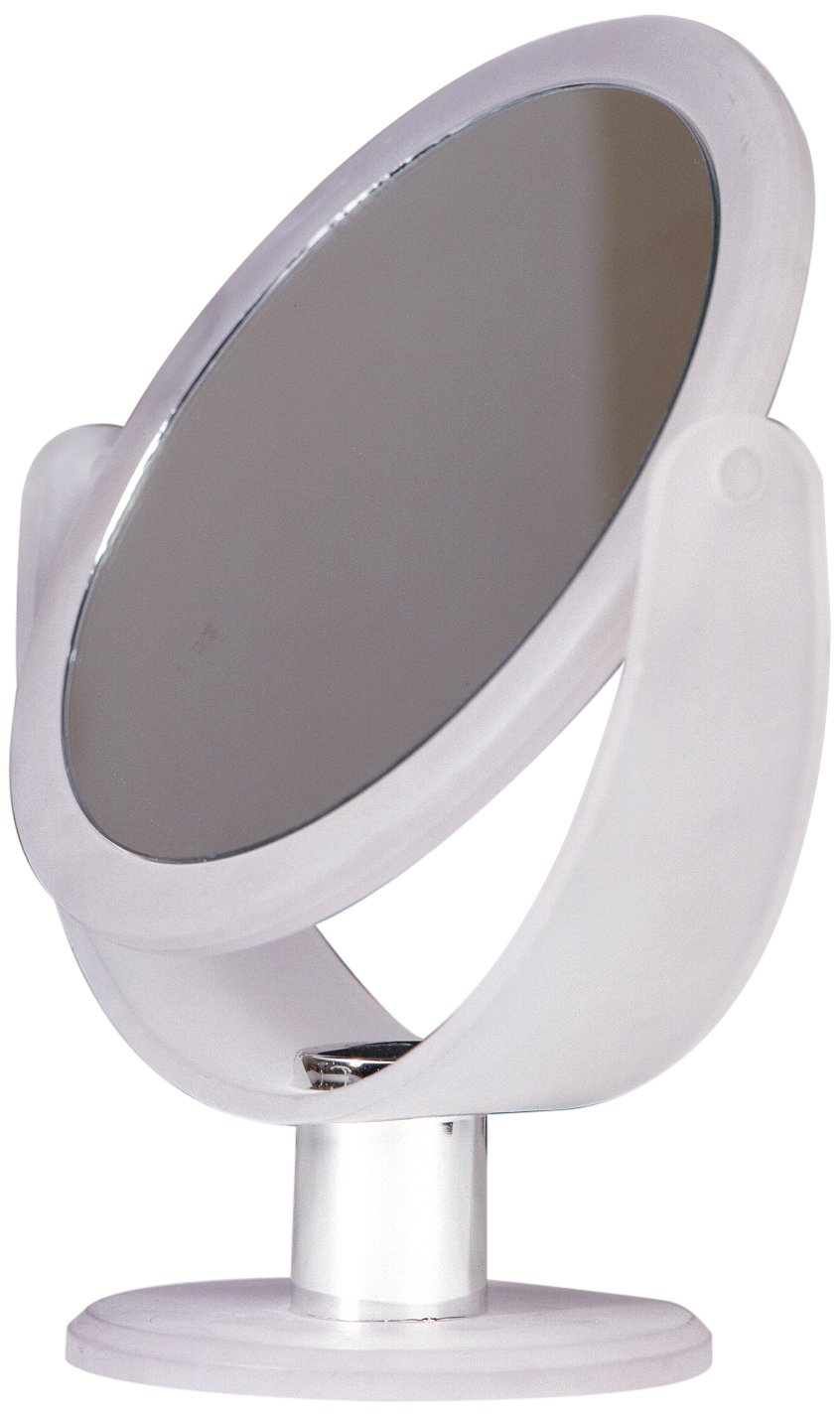Floxite Fl-83fmw 8x Magnifying 8x 3x Vanity Mirror, Frosted White