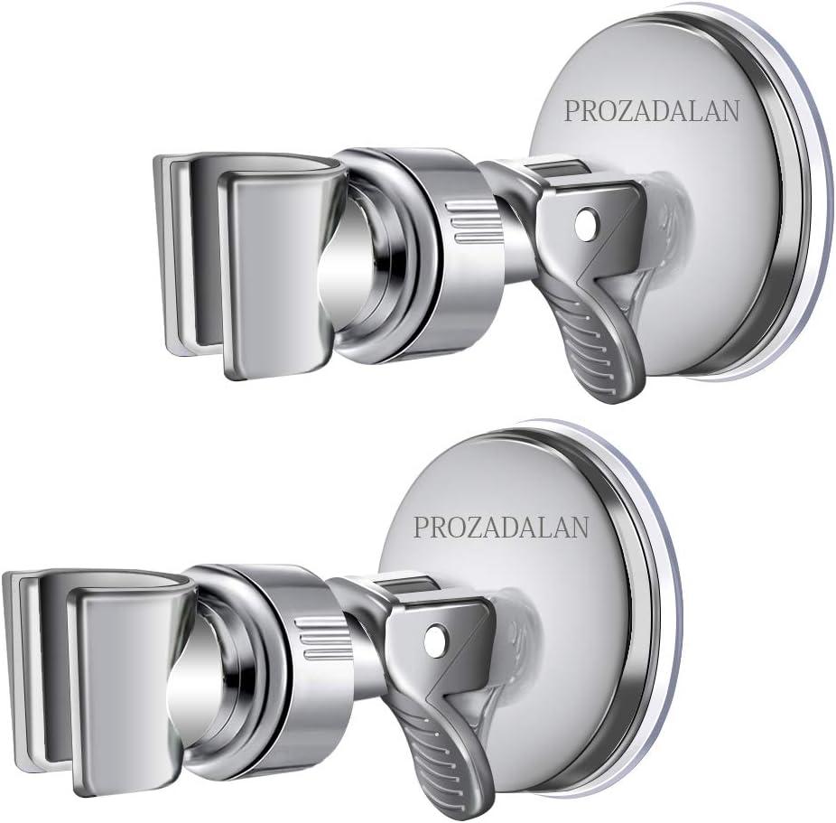 360/° Drehbar Dusche Handbrause Halterung Brause Brausehalter f/ür Slide Brausehalter Verstellbar Duschhalterung Handbrause Halterung Universal 22mm, Silber