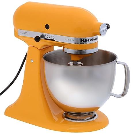 KitchenAid, 5KSM150PS, Robot da cucina Artisan, colore: Giallo ...