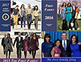 Obama First Family (4) Commemorative ''12 Page Calendar - Gift Set