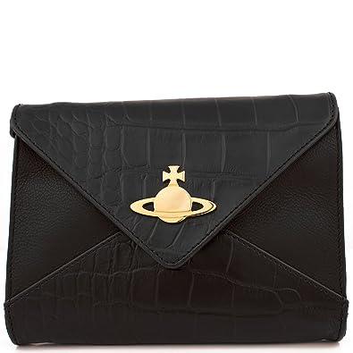 c29a8bfd61 Vivienne Westwood Beaufort 6653 Small Envelope Crossbody Bag Black:  Amazon.co.uk: Shoes & Bags