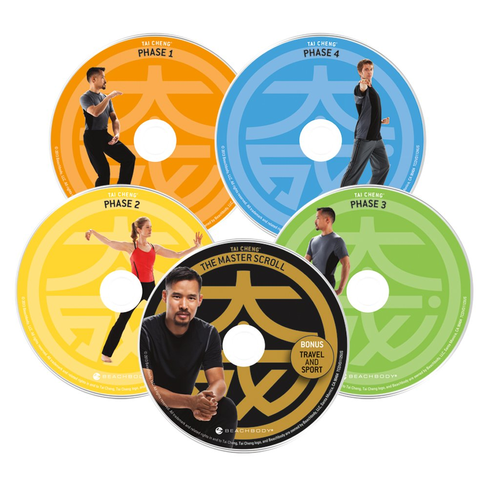 Tai Cheng Dvd Workout Base Kit Exercise And Fitness De Marc Basic Telephone Wiring Diagram Video Recordings Sports Outdoors