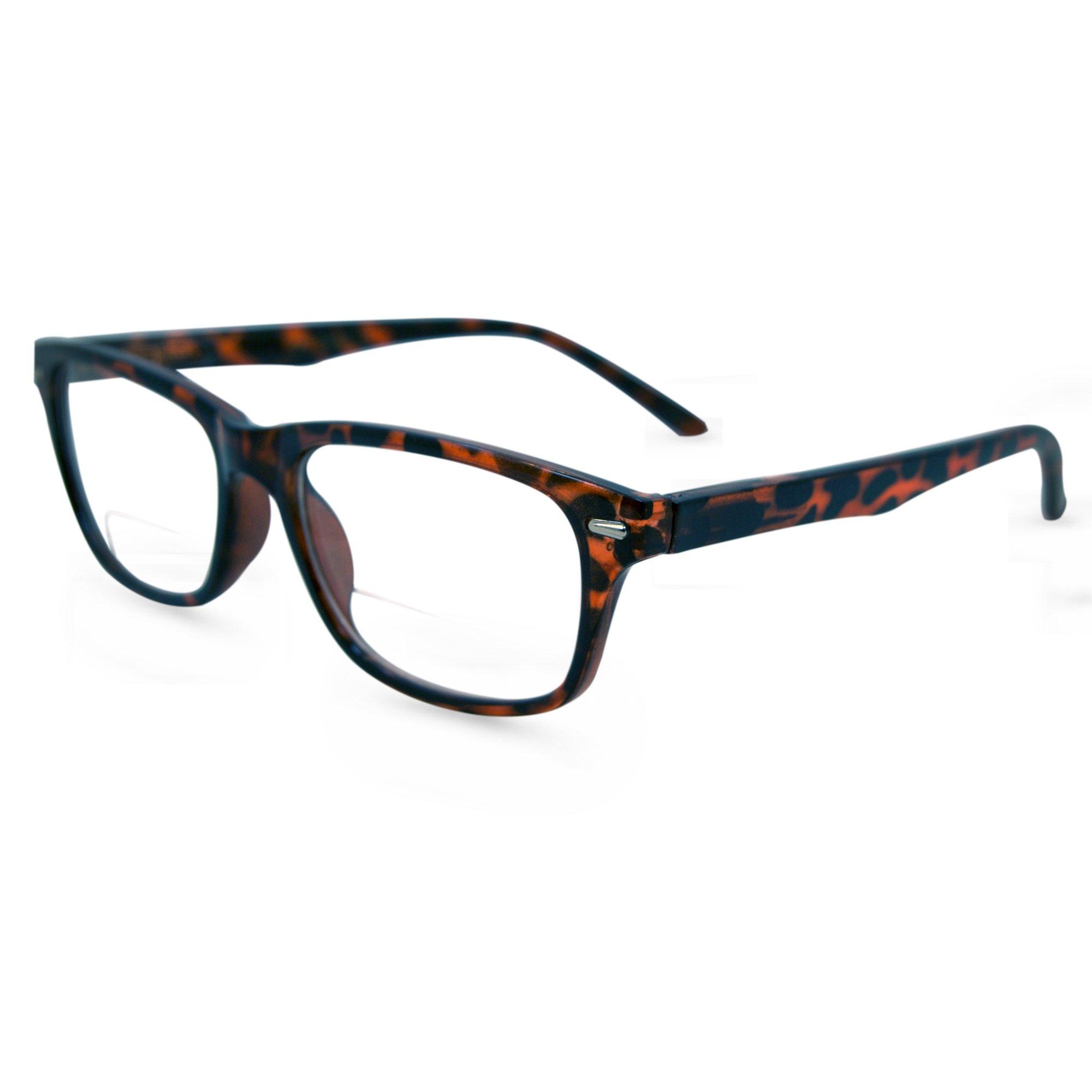 36d67d7c8e8 Galleon - In Style Eyes Seymore Retro BiFocal Reading Glasses Tortoise 3.50