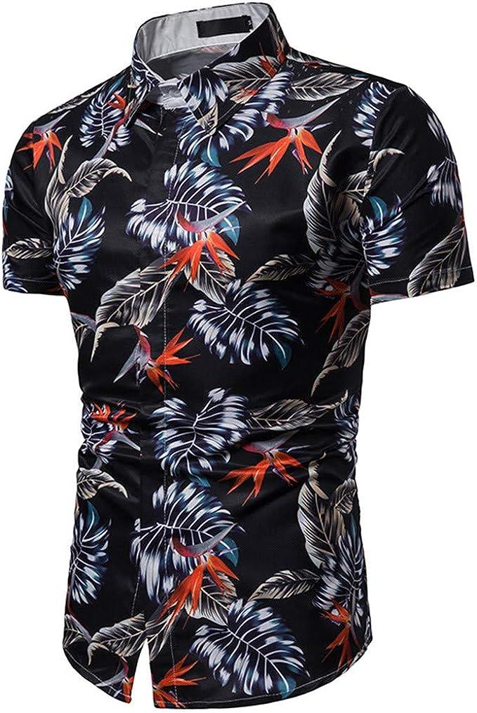 Xmiral - Camisa de Playa Hawai con impresión 3D, Color de Moda ...