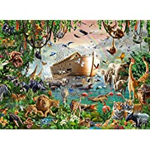 Noah's Ark Poster Print by Adrian Chesterman (18 x 9)