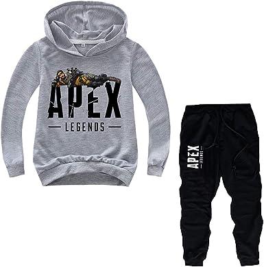 Amazon Com Apex Legends Jersey Para Ninos Con Estampado Fresco De Primavera Y Otono Pantalones De Haz Para Ninos Y Ninas Clothing