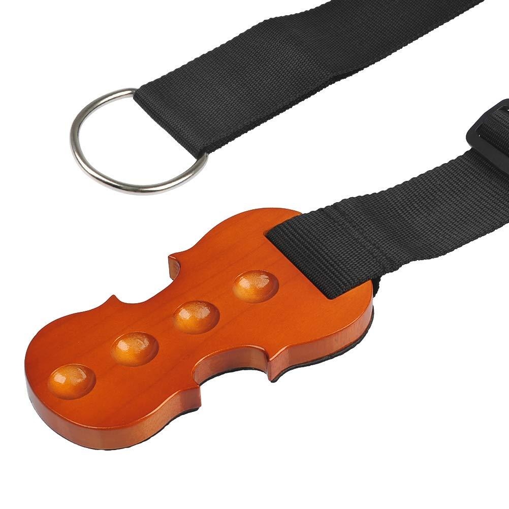 TIMESETL Cello Stopper Soporte antideslizante Stop de madera maciza Reposo para protecció n de anclaje para violonchelo con 4 agujeros en forma