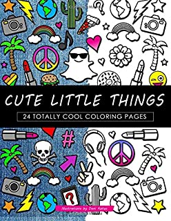 Cute Little Things Coloring Book 24 Page