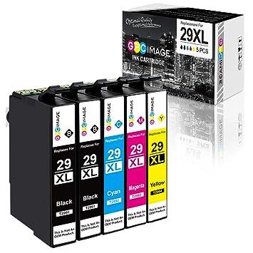 GPC Image 29XL Cartuchos de Tinta de Repuesto para Epson 29 ...