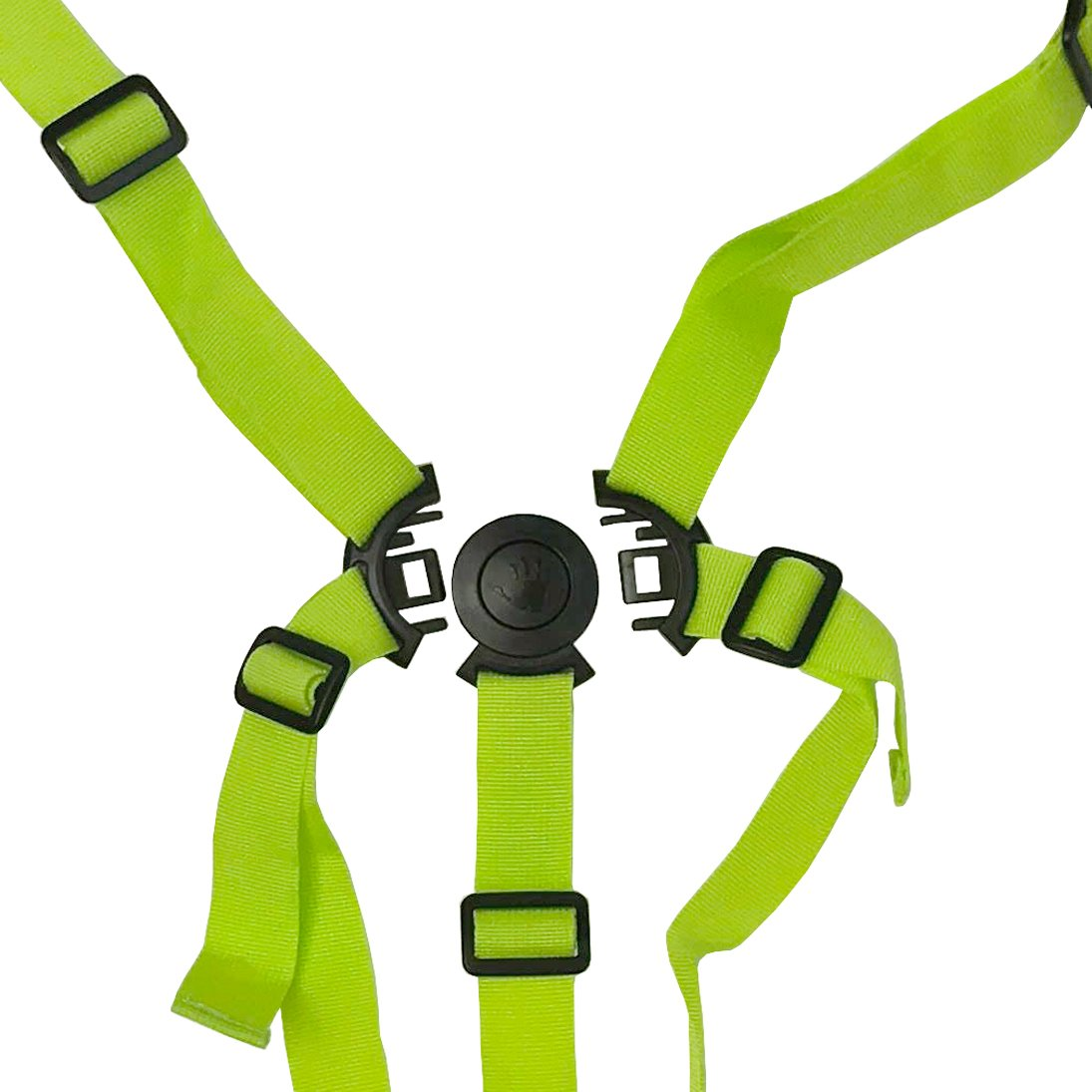 Five Point Harness - Lime (For OPTIMUM Stroller) Universal* OptSpare