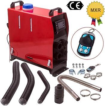 Maxpeedingrods 12v 5kw Adjustable Diesel Luftheizung Air Heater 4 Löcher Lcd Monitor Für Lkw Pkw Yacht Boot Auto
