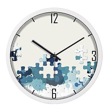 reloj de pared LCSHAN Dormitorio Sala de Estar Relojes Modernos Reloj Creativo Simple Personalidad de la