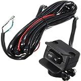 JooFn Heavy Duty ATV/UTV Winch Replacement Rocker Handlebar Control Switch