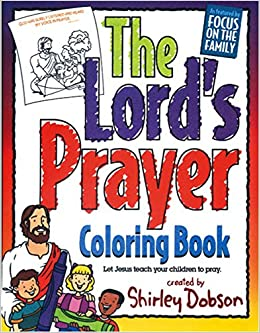 Amazon The Lords Prayer Coloring Book 9780830771158 Shirley