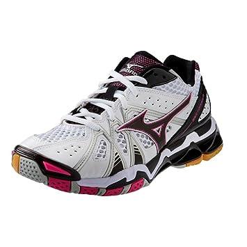 Bts Mizuno Wave Tornado 9 Women's Volleyball Shoes White & Pink