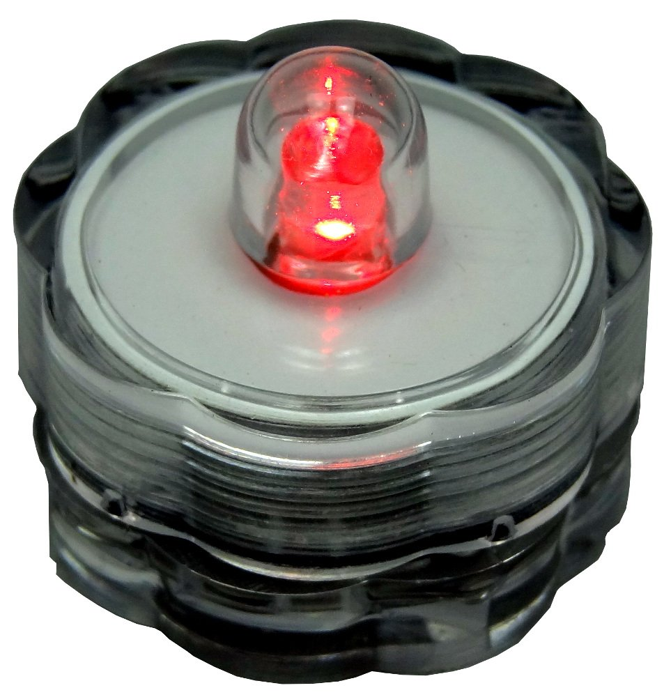 Bluedot Trading Submersible Tea Lights Red 36 Pack First Of All Start Unscrewing Untwisting Unclipping Your Old Light Home Kitchen