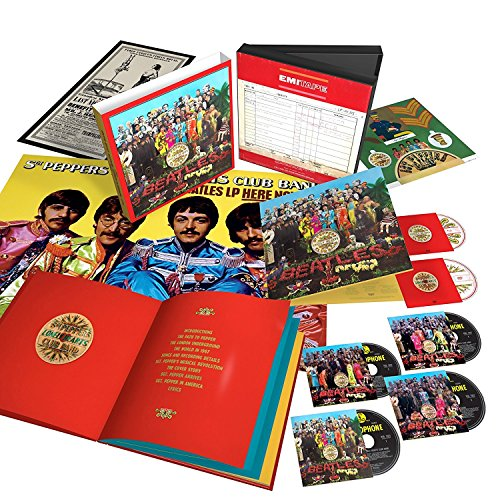 The Beatles' 50th Anniversary of Sgt Pepper's Lonely Hearts Club Band (Limited Boxset) - European Edition (Sgt Peppers Lonely Hearts Club Band Super Deluxe)
