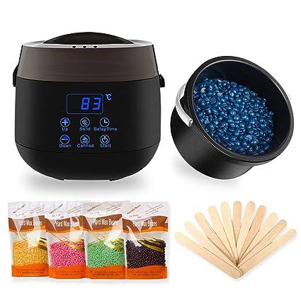Amazon.com: Dr.Lefran Calentador de cera eléctrico, pantalla ...