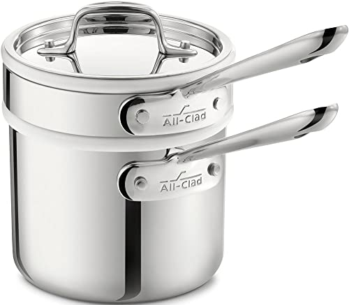 All-Clad 8400000266 Stainless Steel Sauce Pan
