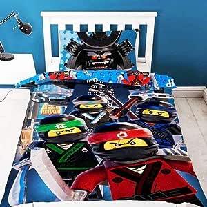 LEGO Ninjago película tripulación poliéster Funda de edredón ...