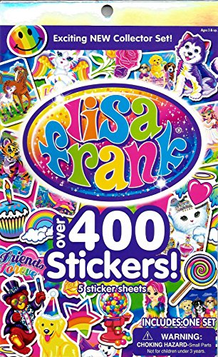 Lisa Frank Over 400 Stickers! (Lisa Frank Unicorn)