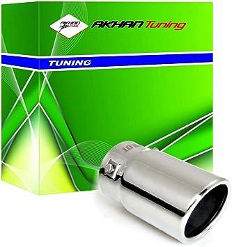 Comprar ER60016 - Acero inoxidable de tubo de escape del tubo de escape de para atornillar Embellecedor de tubos de escape universales