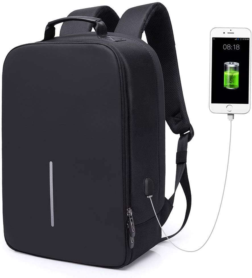 G-raphy Laptop Backpack 15.6 Inch with USB Charging Port for Travel/Business/College