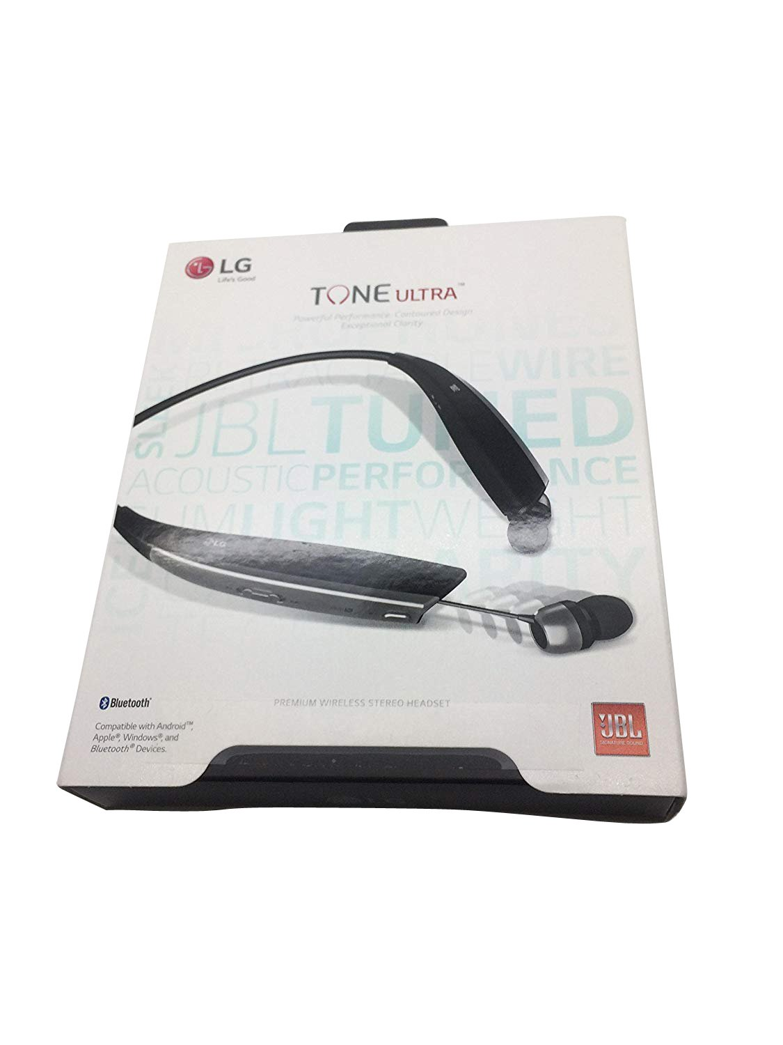 6f20e4cd926 Amazon.com: LG Tone Ultra HBS-820 Bluetooth Wireless Stereo Headset -  Black: Cell Phones & Accessories